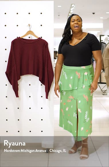 Sahara Crop Sweater, sales video thumbnail