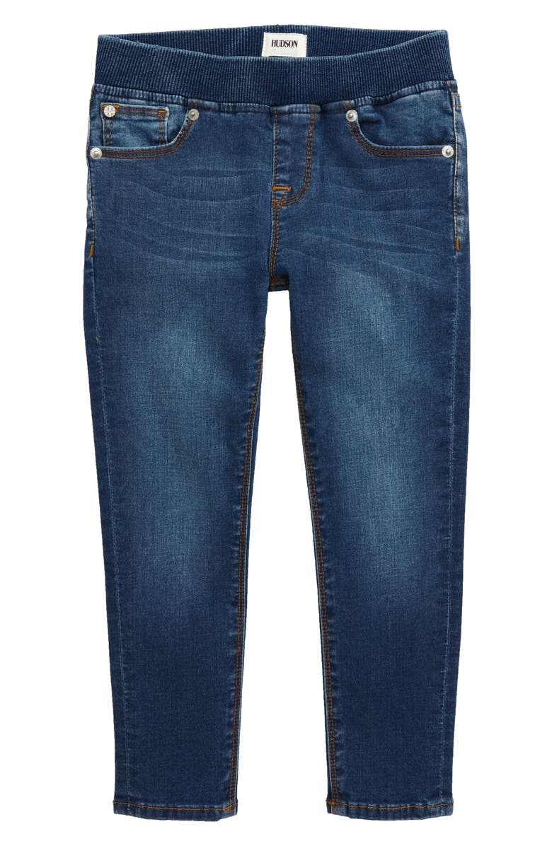 HUDSON JEANS Hudson Rosie Pull-On Skinny Jeans, Main, color, MELLOW BLUE