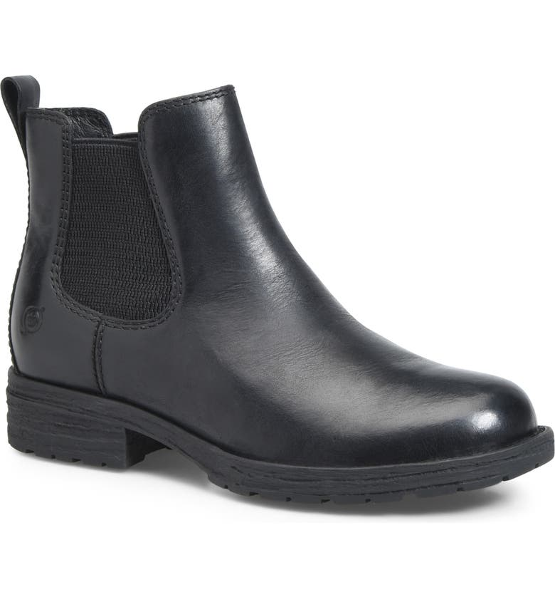 BØRN Cove Waterproof Chelsea Boot, Main, color, 001