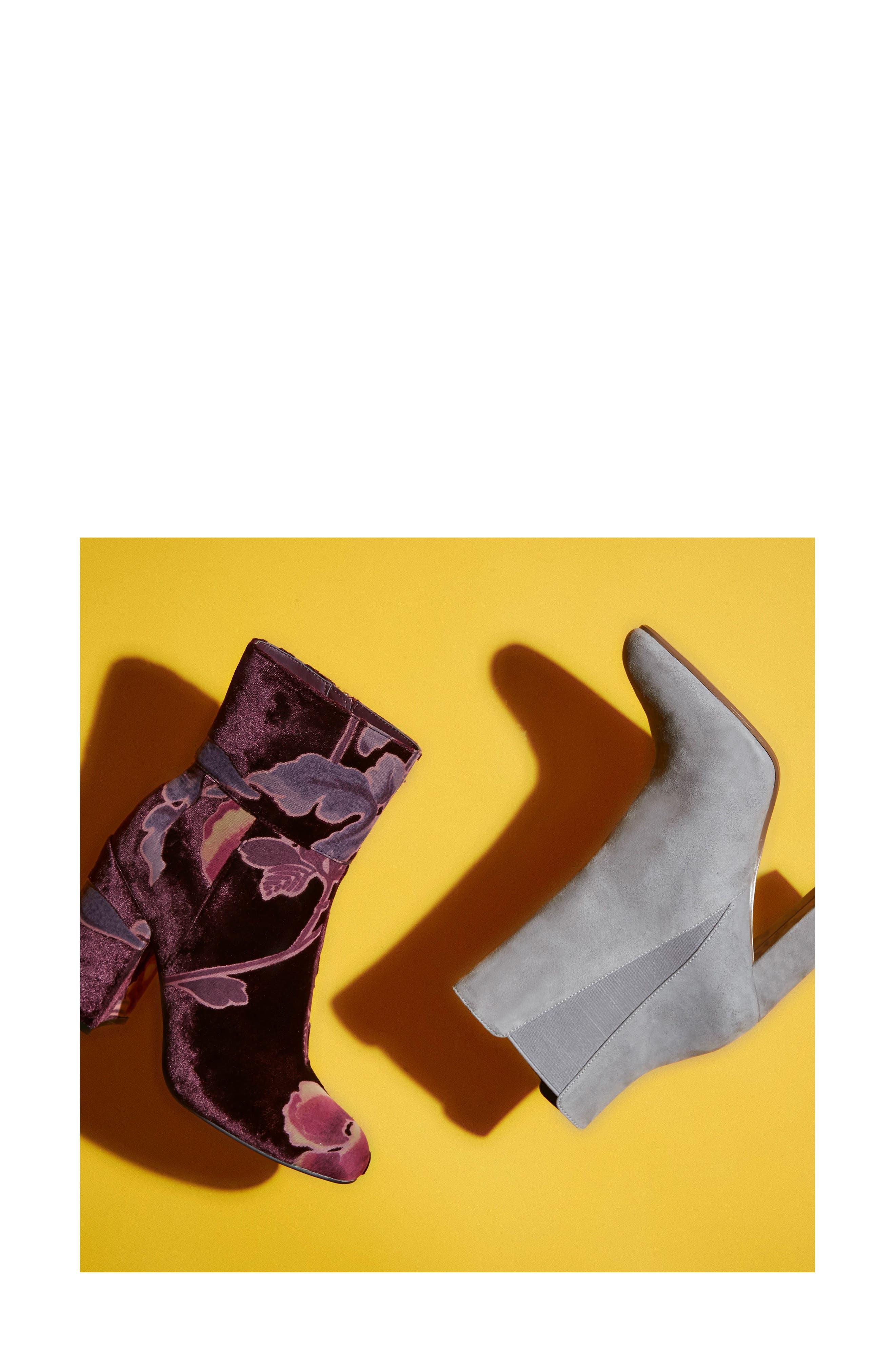 ,                             Effect Block Heel Bootie,                             Alternate thumbnail 14, color,                             020