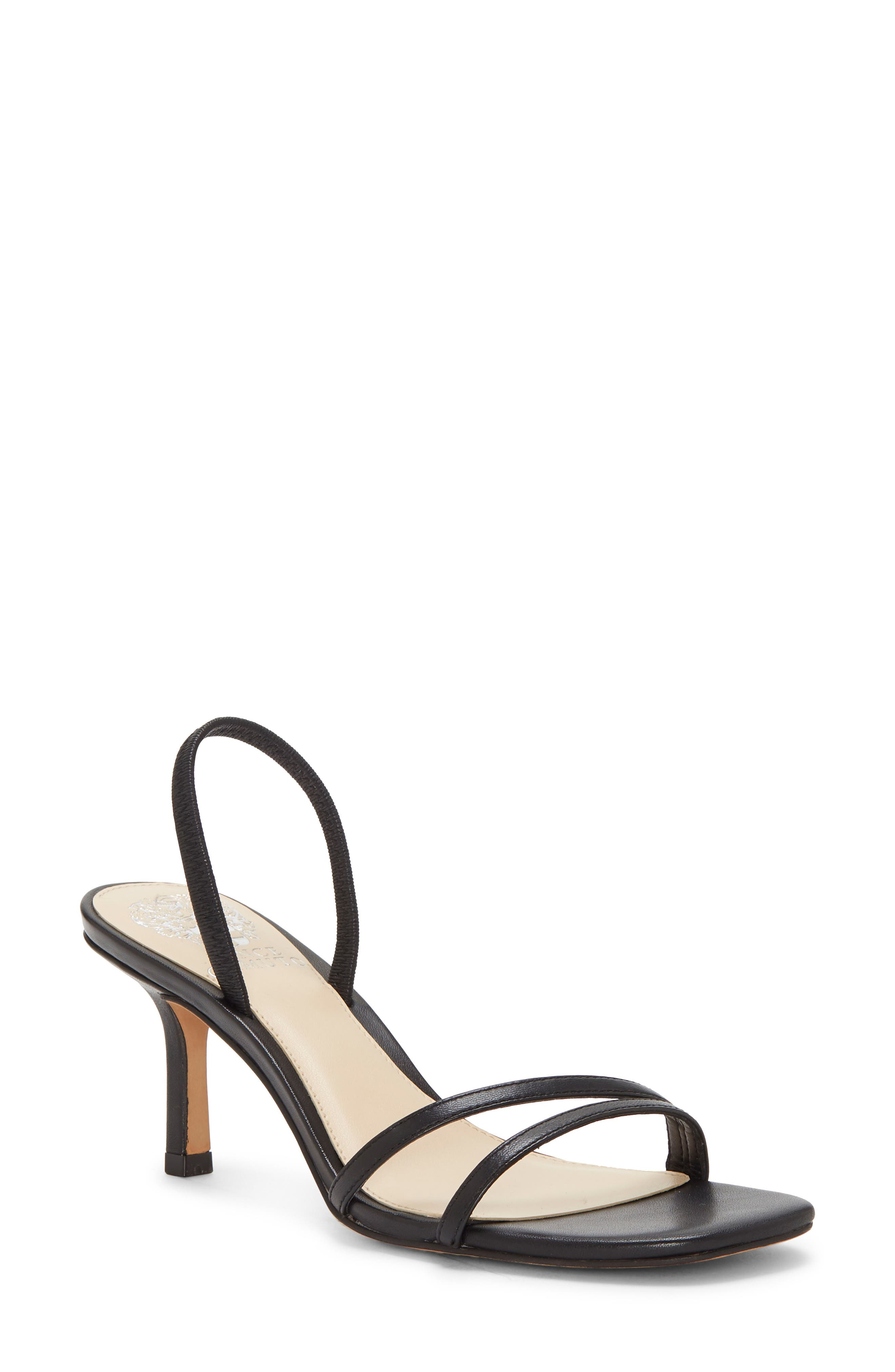 Slender straps make this sandal a graceful complement for any daytime or evening look. Style Name: Vince Camuto Sheela Sandal (Women). Style Number: 5882165. Available in stores.