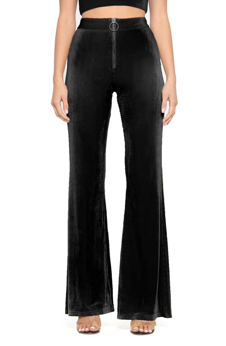 TIGER MIST Bobbi Pants, Main, color, BLACK