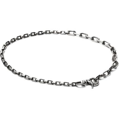 Title Of Work Box Chain Bracelet