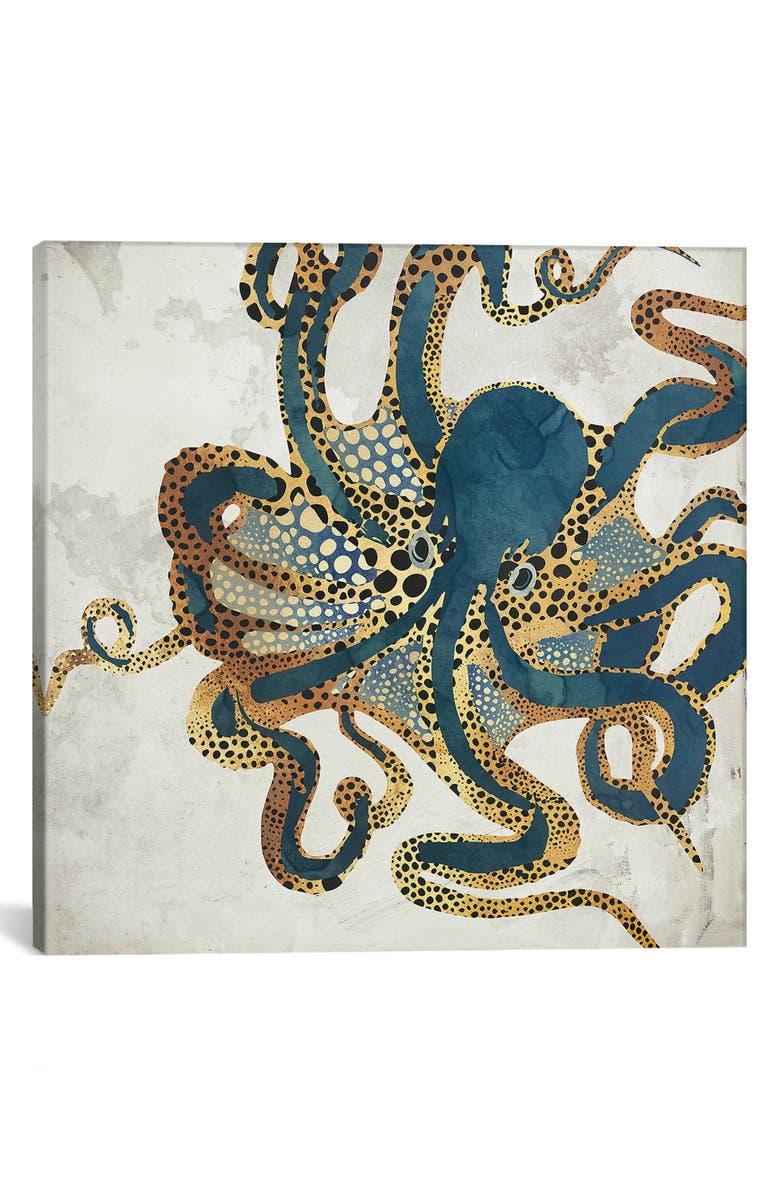 ICANVAS Underwater Dream VI by SpaceFrog Designs Giclée Print Canvas Art, Main, color, BLUE