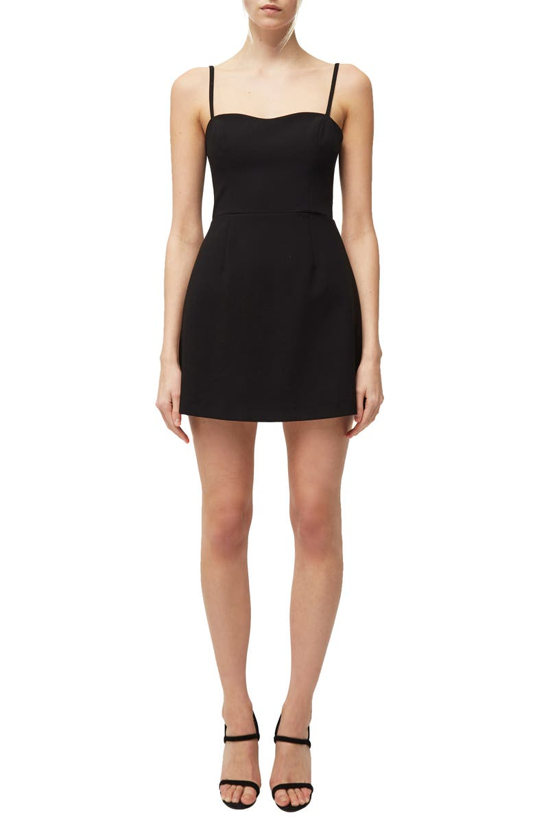 Whisper Cutout Tie Back Minidress by French Connection