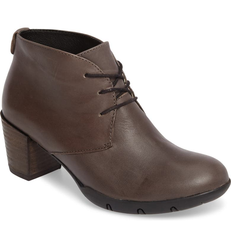 WOLKY Bighorn Bootie, Main, color, GRAY LEATHER