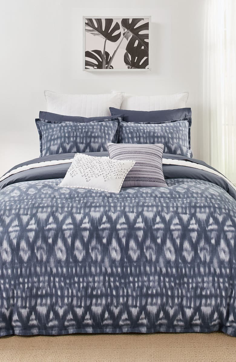 SPLENDID HOME DECOR Moonstone Comforter & Sham Set, Main, color, SMOKY BLUE