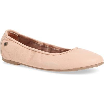 Minnetonka Anna Ballerina Flat, Pink