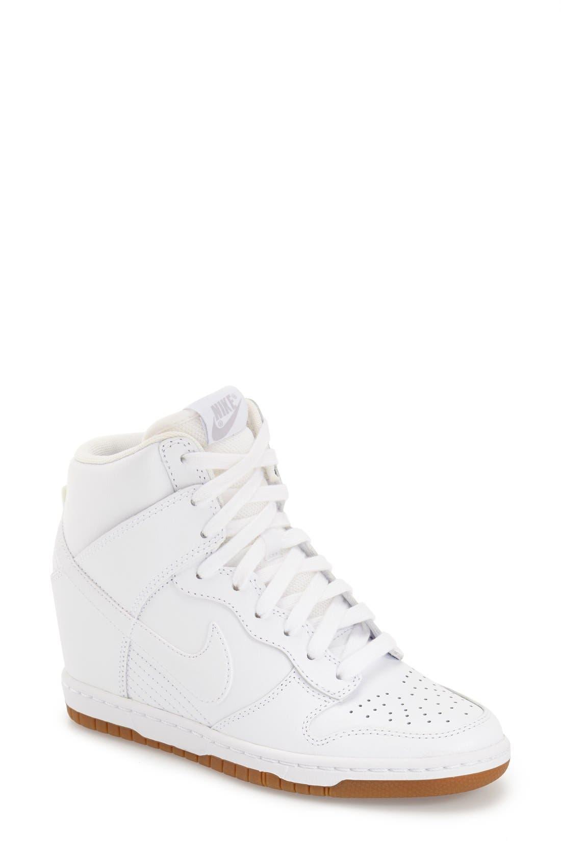 ,                             'Dunk Sky Hi - Essential' Wedge Sneaker,                             Main thumbnail 45, color,                             103