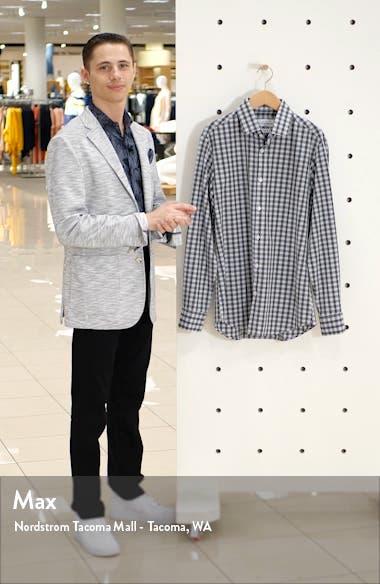Chester Blue Trim Plaid Shirt, sales video thumbnail