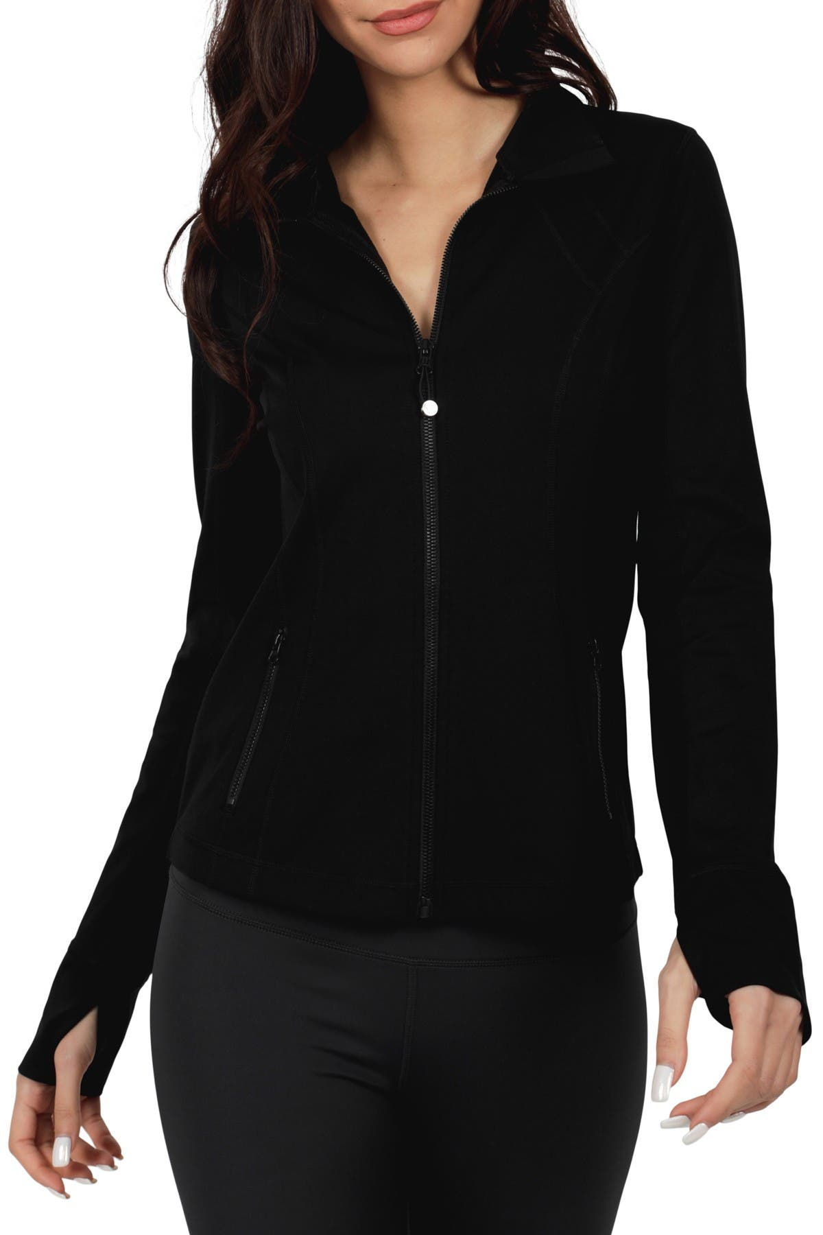 Image of 90 Degree By Reflex Ultralink Fleece Full Zip Jacket