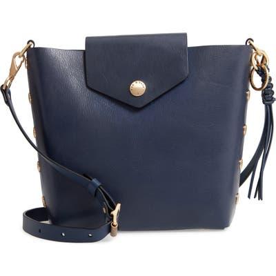 Rag & Bone Atlas Leather Bucket Bag - Blue