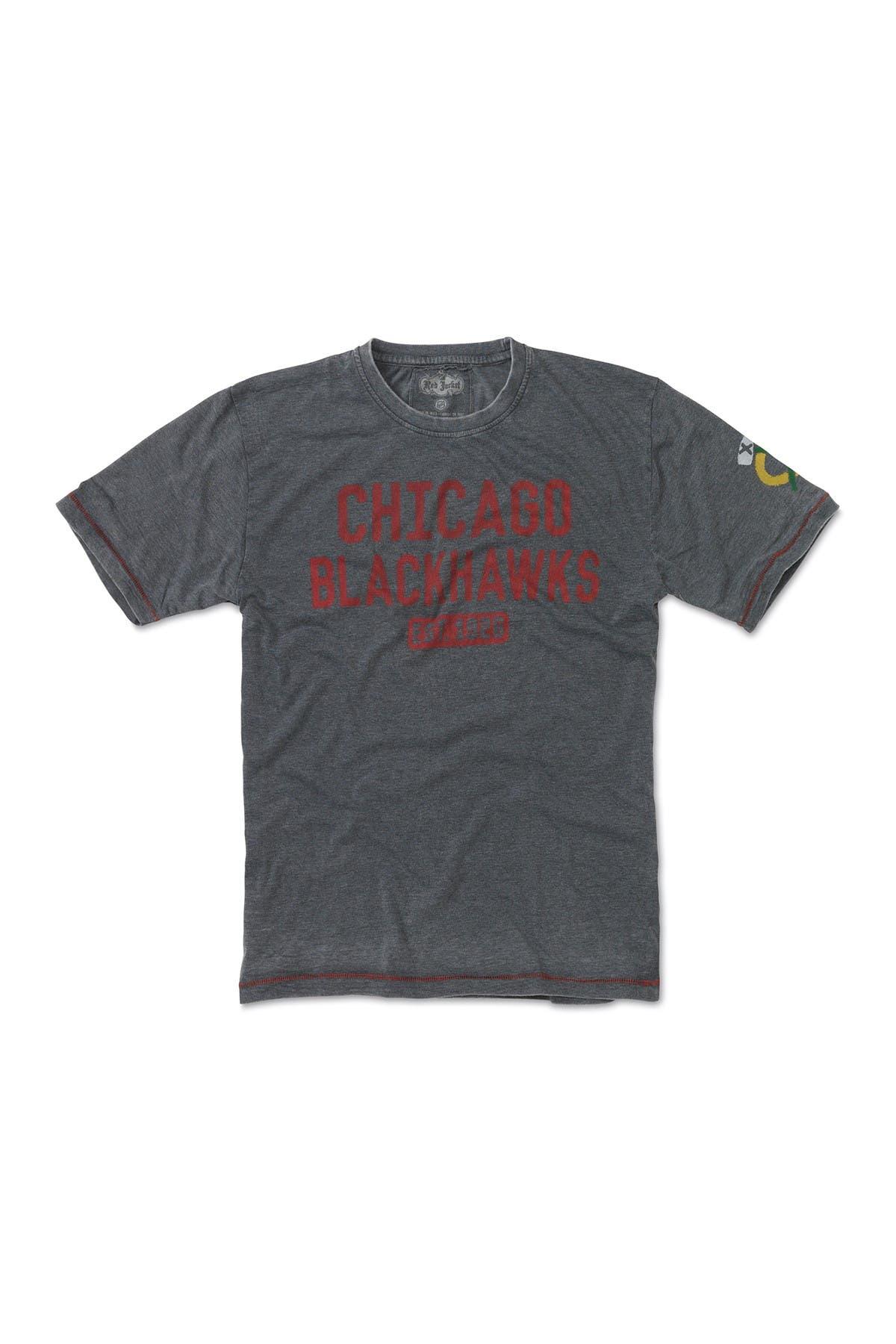 Image of Red Jacket NHL Chicago Blackhawks Short Sleeve T-Shirt