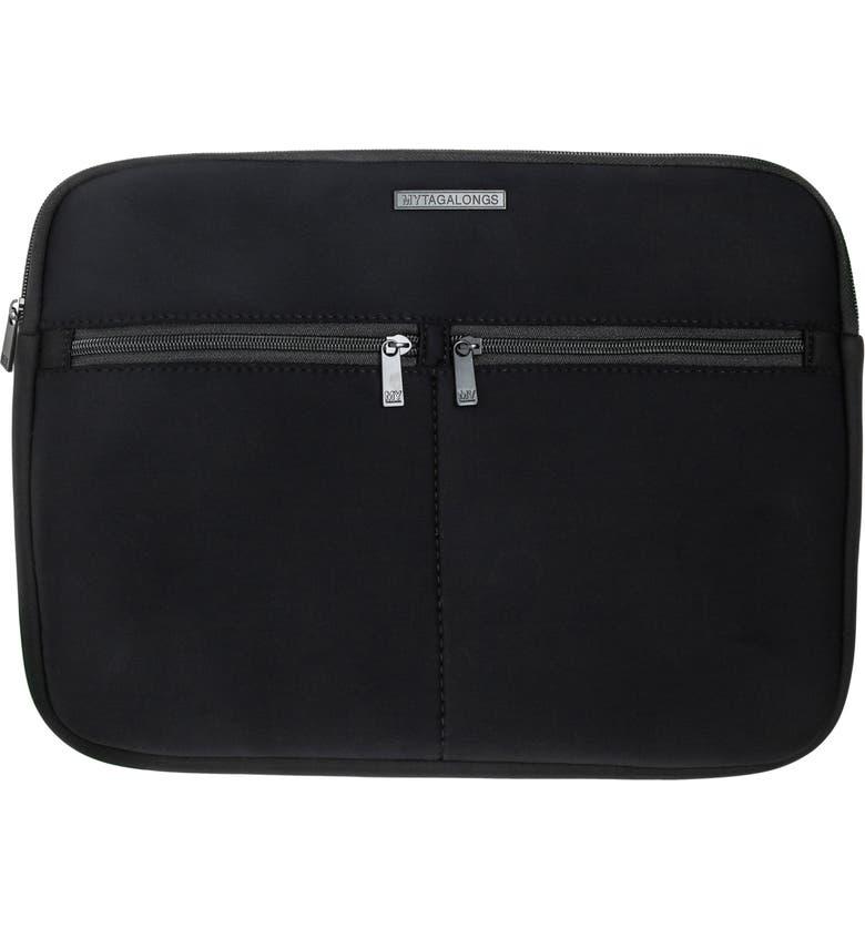 MYTAGALONGS Everleigh Laptop Sleeve, Main, color, BLACK