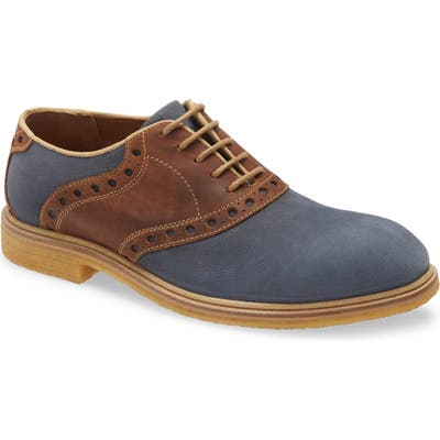 Johnston & Murphy Wagner Plain Toe Oxford, Blue