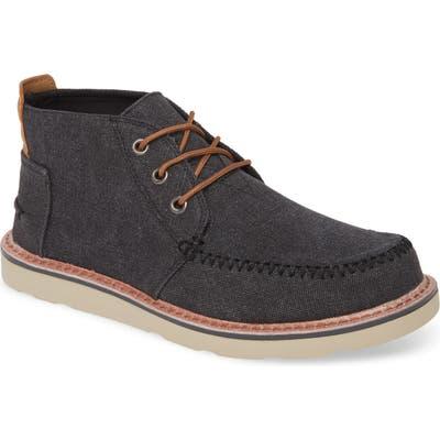 Toms Moc Toe Boot, Black