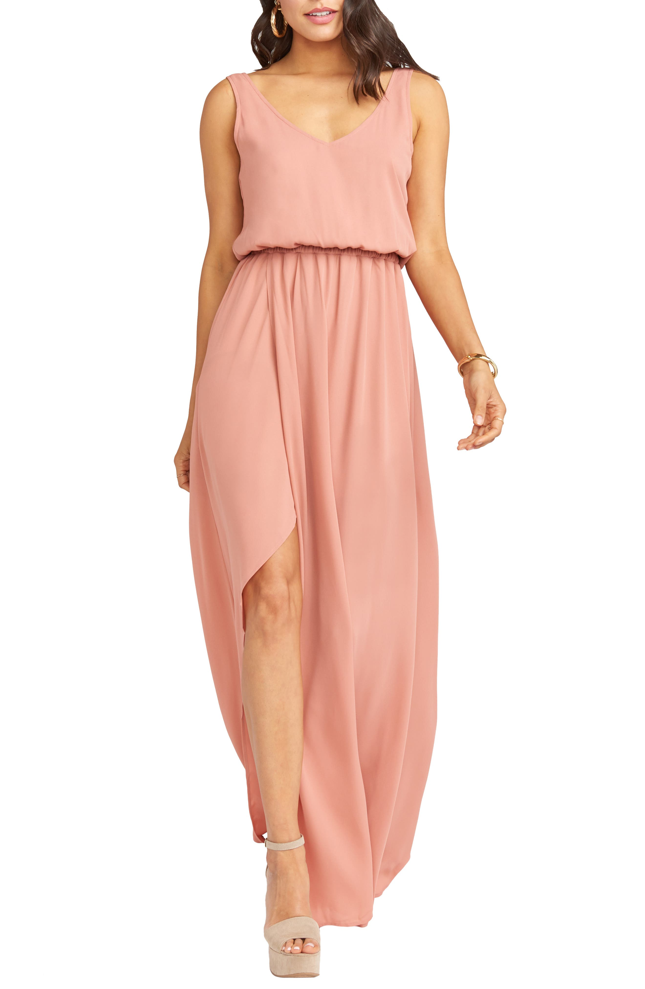 Show Me Your Mumu Kendall Maxi Dress, Pink