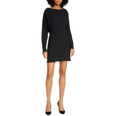 A.l.c. Greer Long Sleeve Minidress, Black