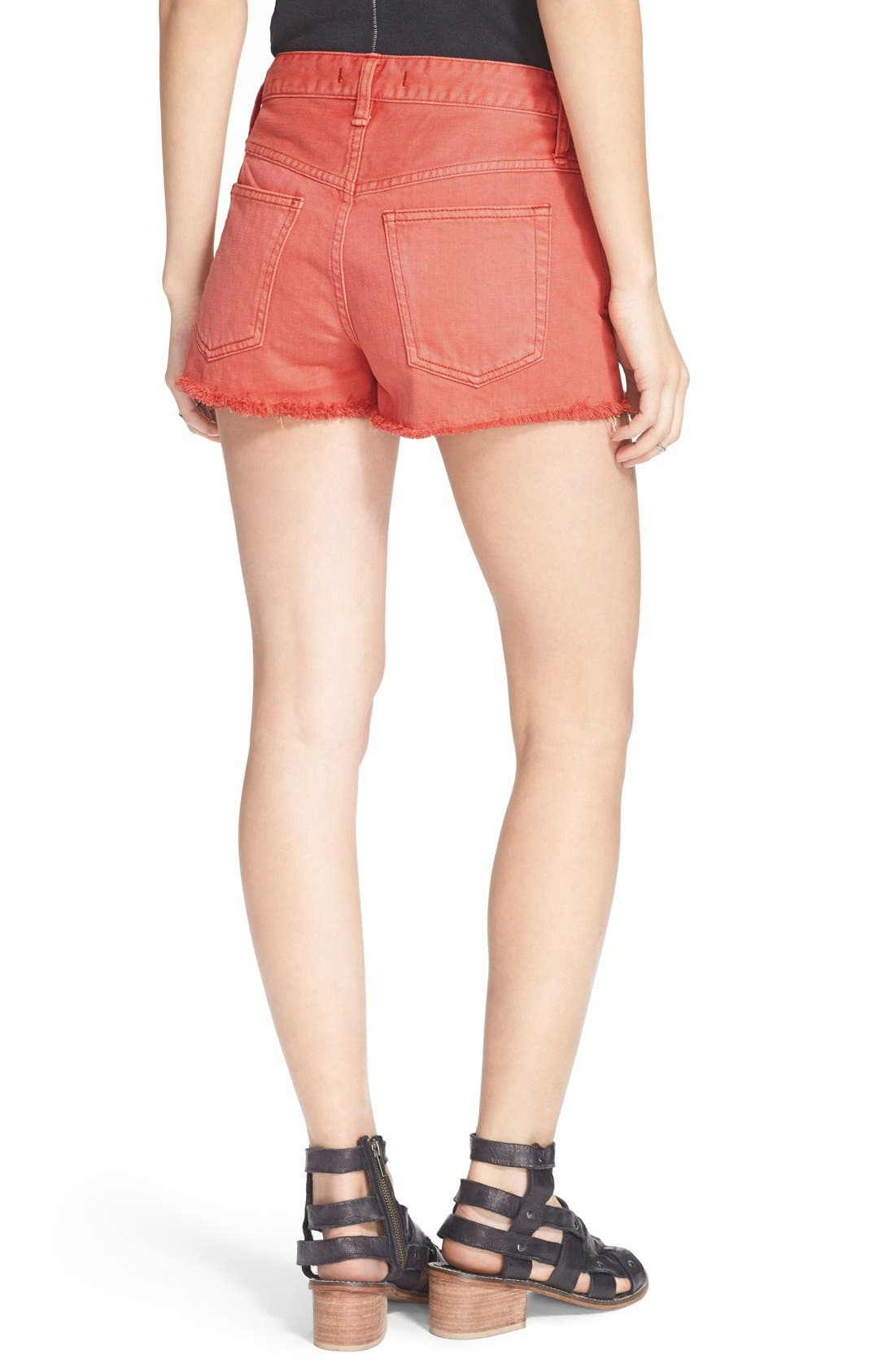 ,                             'Uptown' Denim Shorts,                             Alternate thumbnail 29, color,                             955