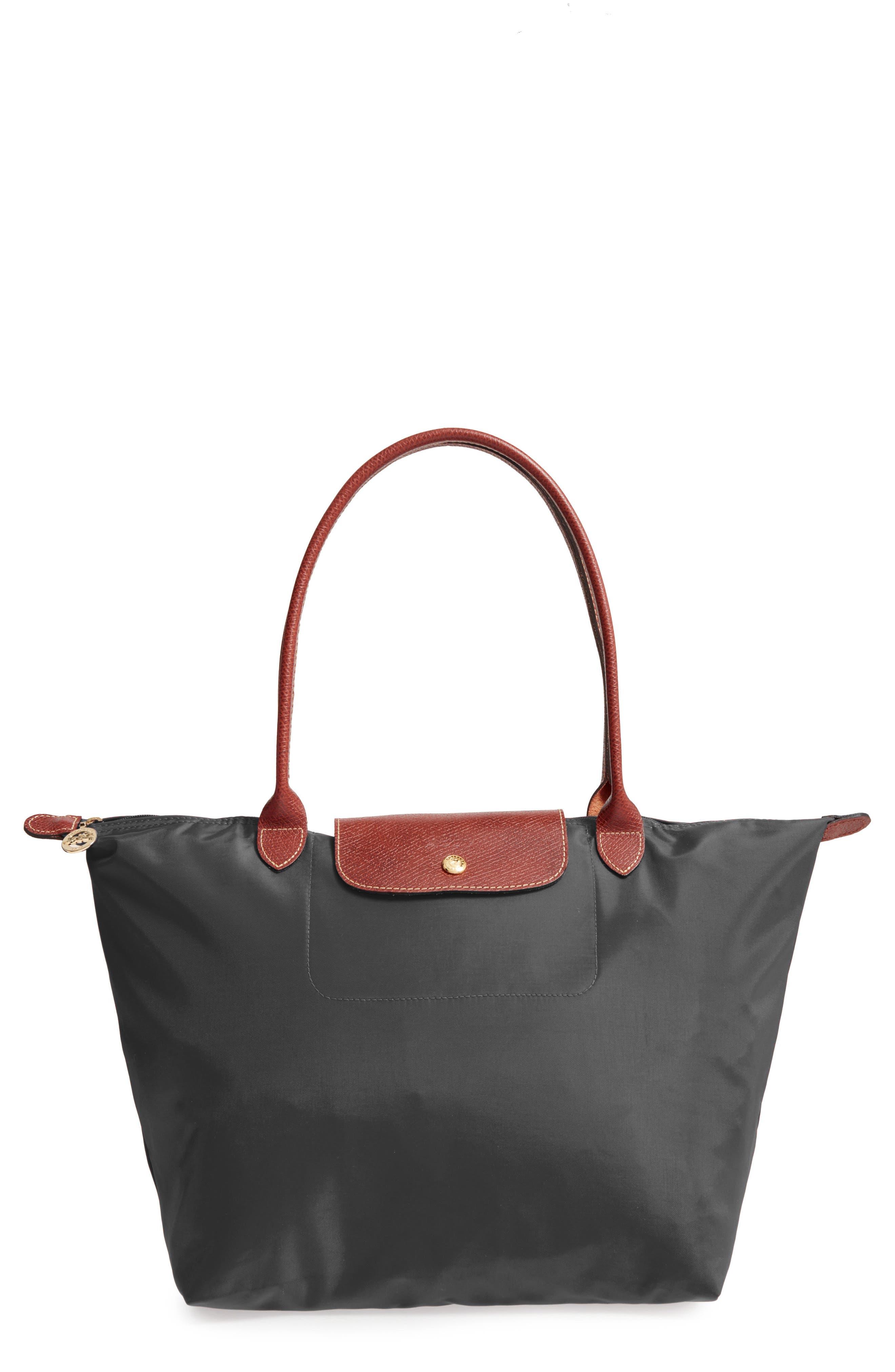 253b27d1209 UPC 671194231473 product image for Longchamp 'Large Le Pliage' Tote  Gunmetal One Size ...