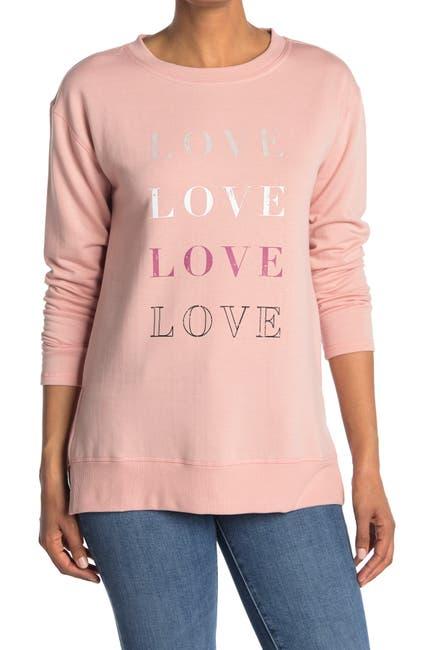 Image of C & C California Fleece Graphic Tunic Pullover