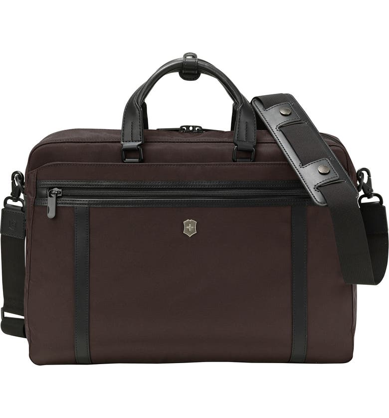 VICTORINOX SWISS ARMY<SUP>®</SUP> Werks Pro 2.0 15-Inch Laptop Briefcase, Main, color, BROWN