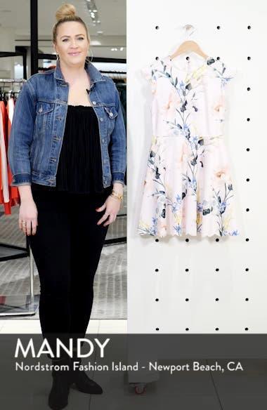 Karsali Elegance Scallop Skater Dress, sales video thumbnail