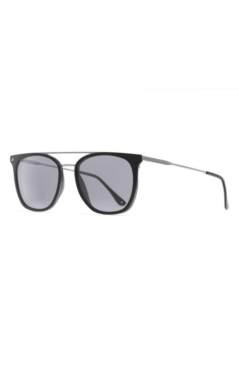 PRIVÉ REVAUX The Aussie 54mm Polarized Sunglasses, Main, color, 001