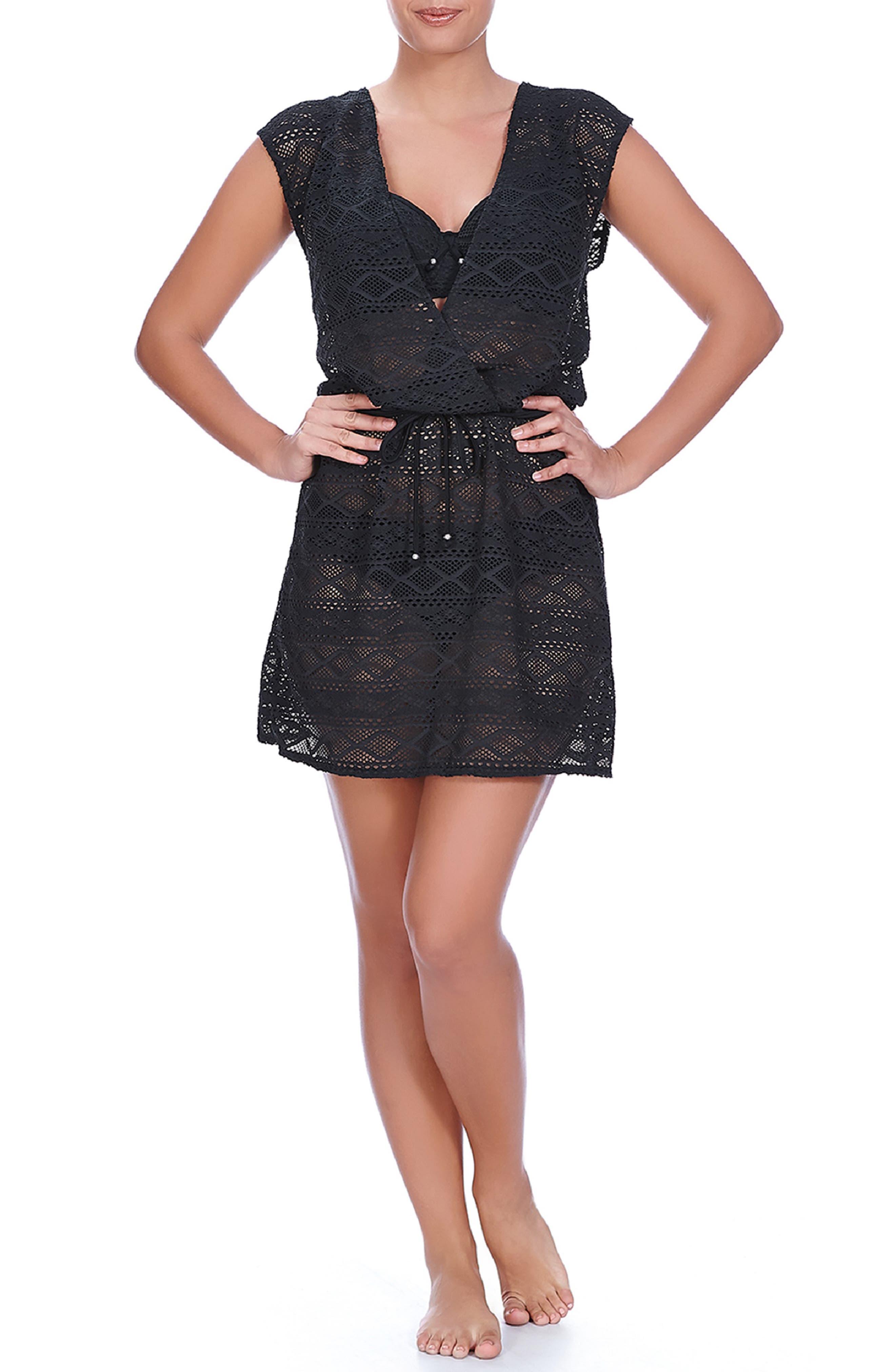 Sundance Crochet Cover-Up Dress