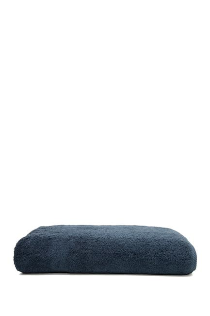 Image of LINUM HOME Midnight Blue Soft Twist Bath Sheet