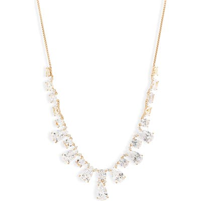 Nadri First Kiss Frontal Slider Necklace
