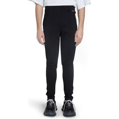 Balenciaga Facelift High Waist Sweatpants, Black