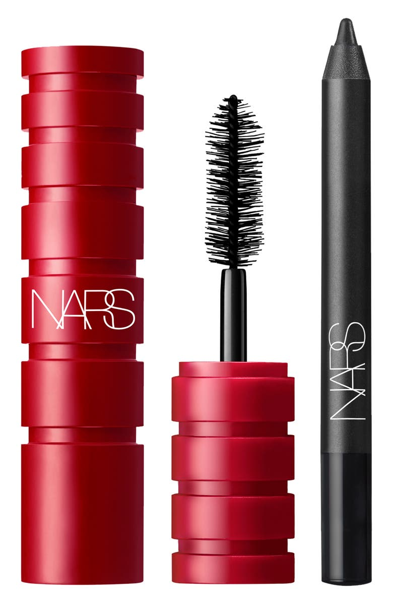 NARS Studio 54 Past Curfew Travel Size Mascara & Eyeliner Set, Main, color, NO COLOR