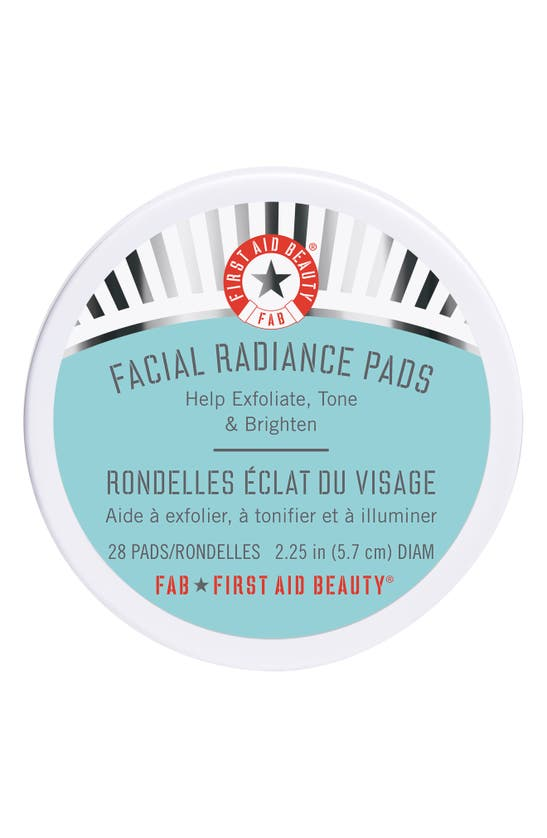 First Aid Beauty Facial Radiance Exfoliate, Tone & Brighten Pads, 28 Count