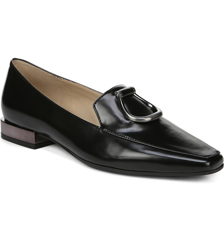 NATURALIZER Corrine Flat, Main, color, BLACK LEATHER