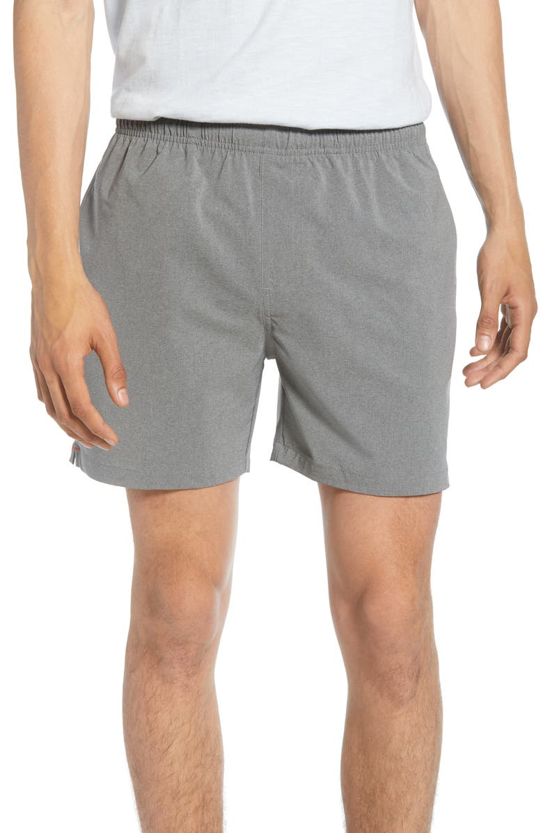 CHUBBIES The Stonehenges Shorts, Main, color, HEATHER GREY