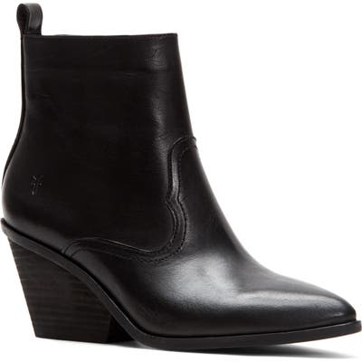 Frye Amado Demi Wedge Bootie, Black