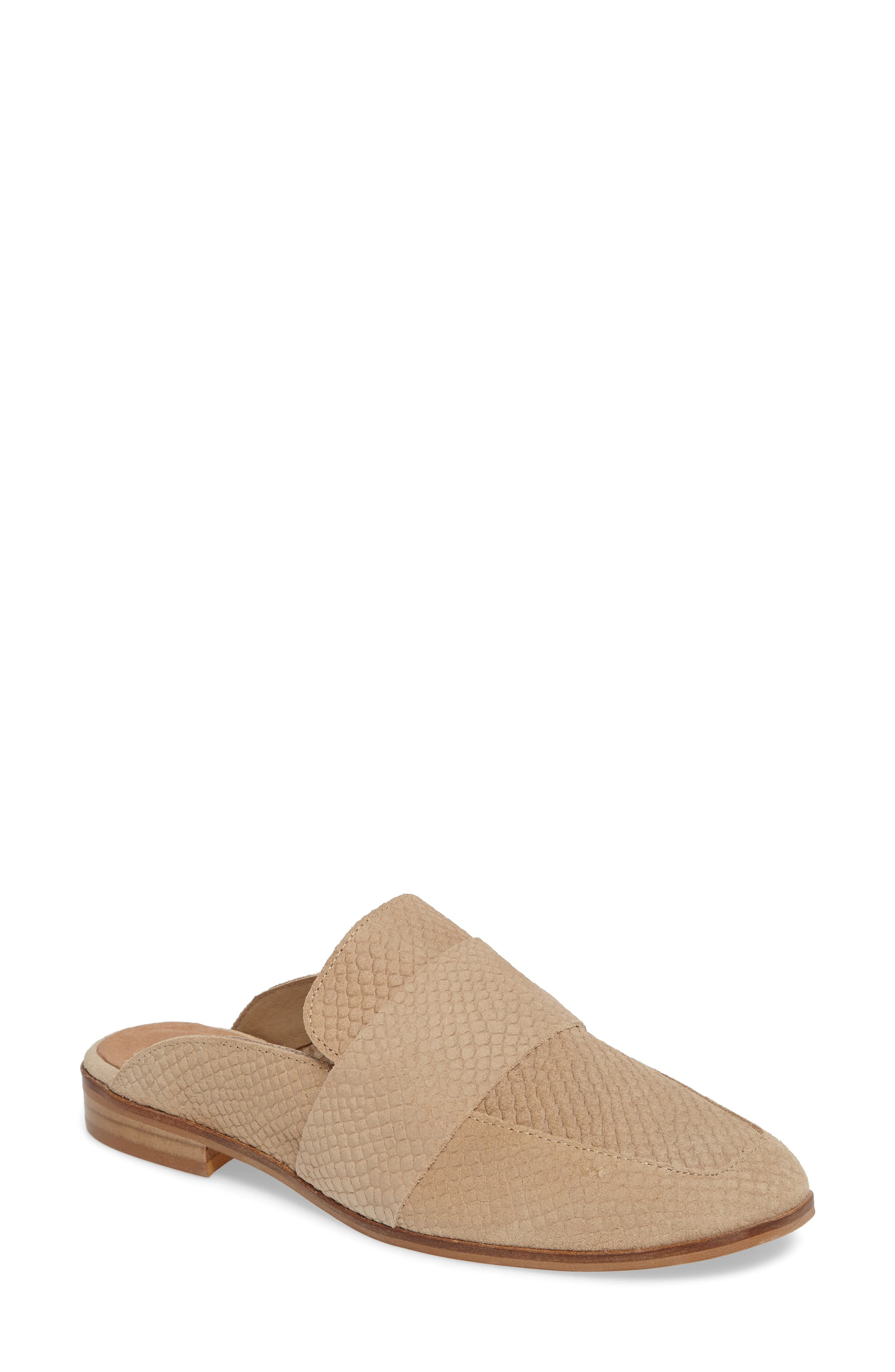 Free People At Ease Loafer Mule, Brown