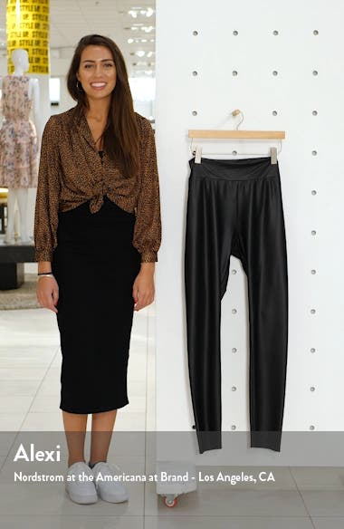 Faux Leather Leggings, sales video thumbnail