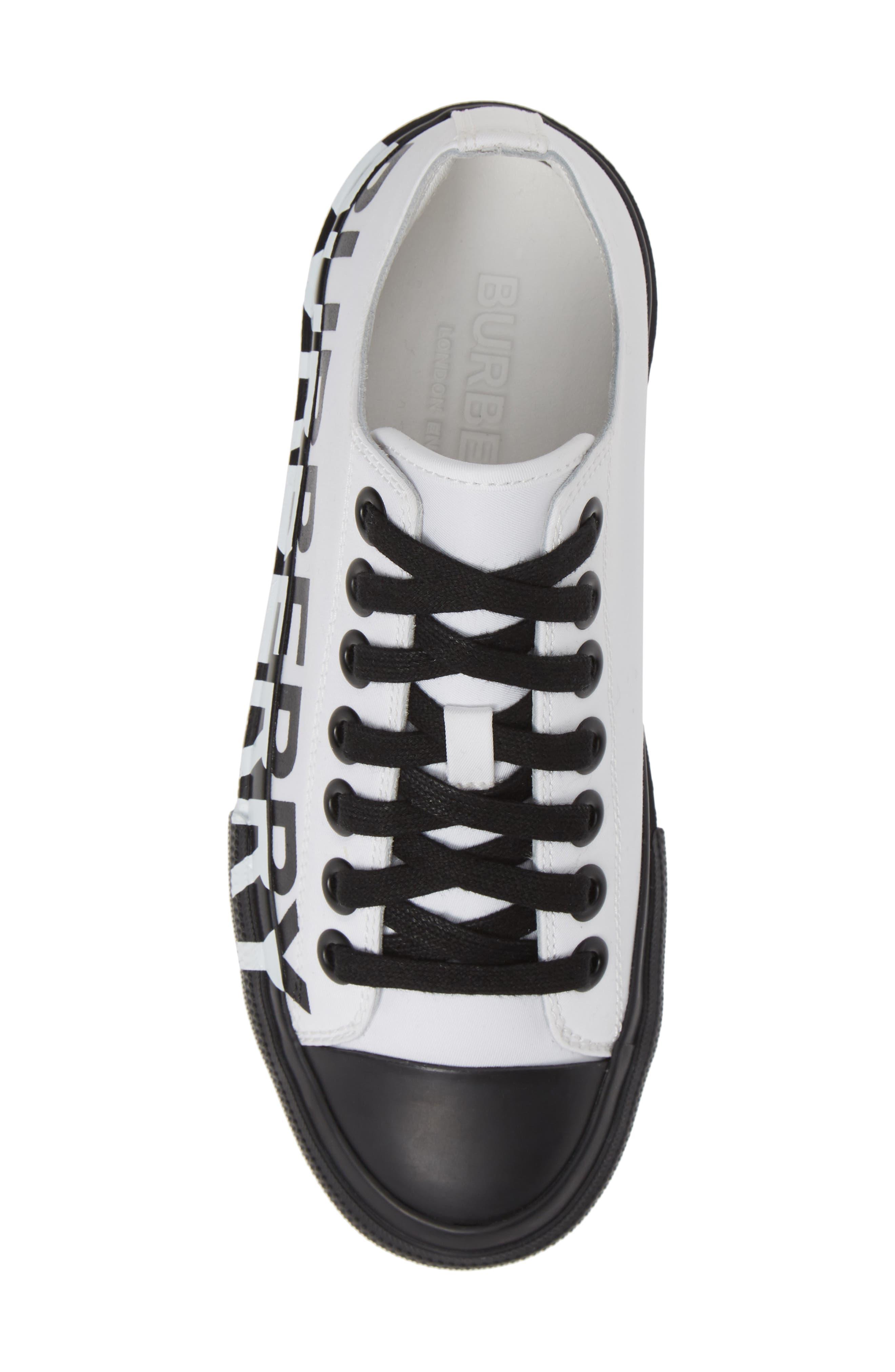 ,                             Larkhall Graphic Logo Sneaker,                             Alternate thumbnail 5, color,                             WHITE/ BLACK