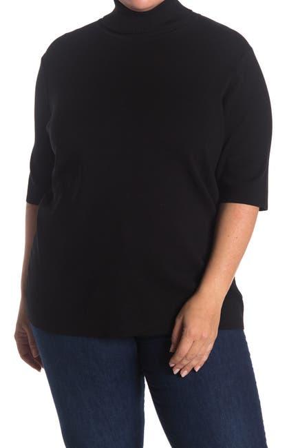 Image of Anne Klein Half Sleeve Turtleneck