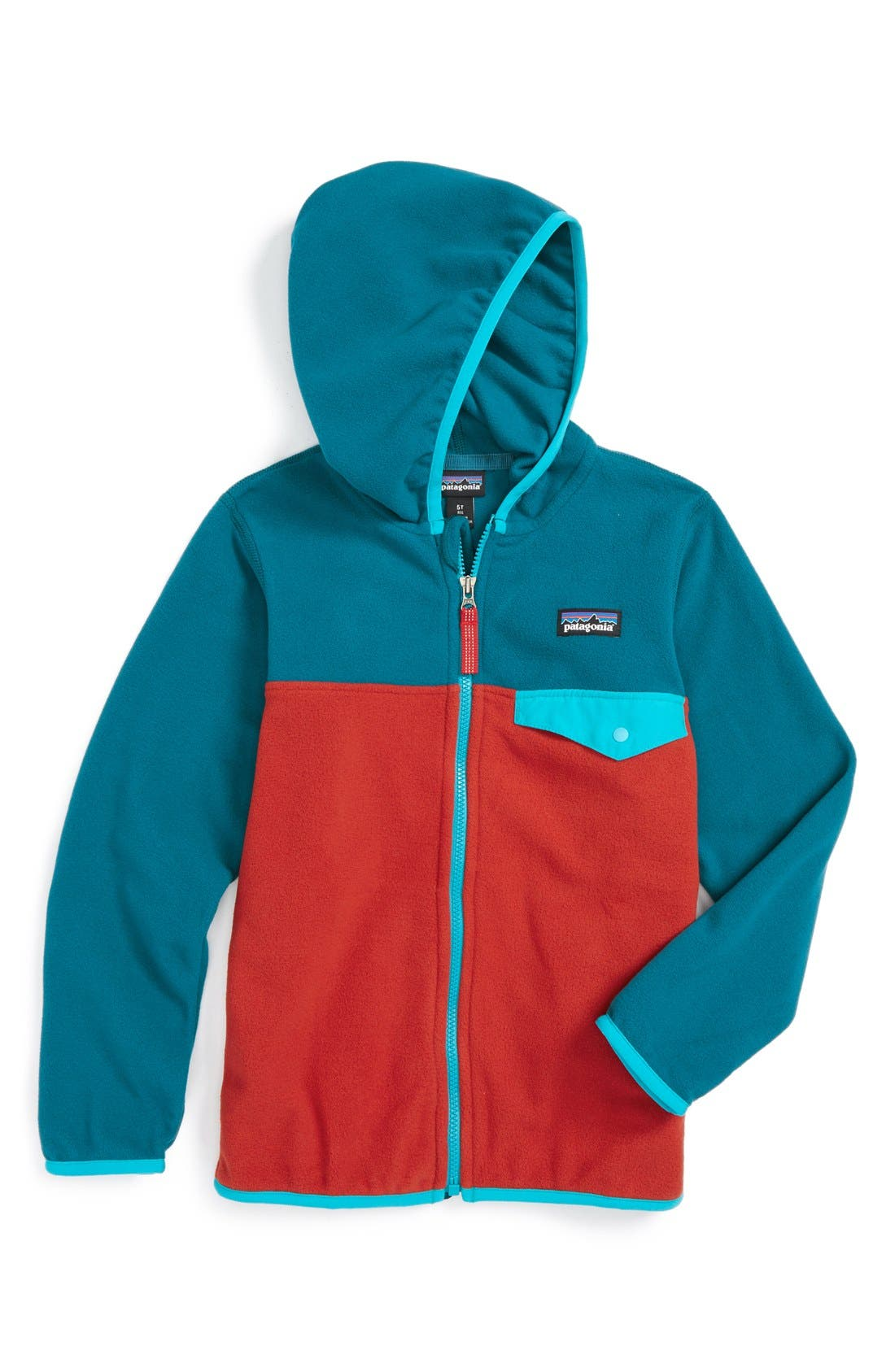 ,                             Micro D<sup>®</sup> Snap-T<sup>®</sup> Fleece Jacket,                             Main thumbnail 5, color,                             600