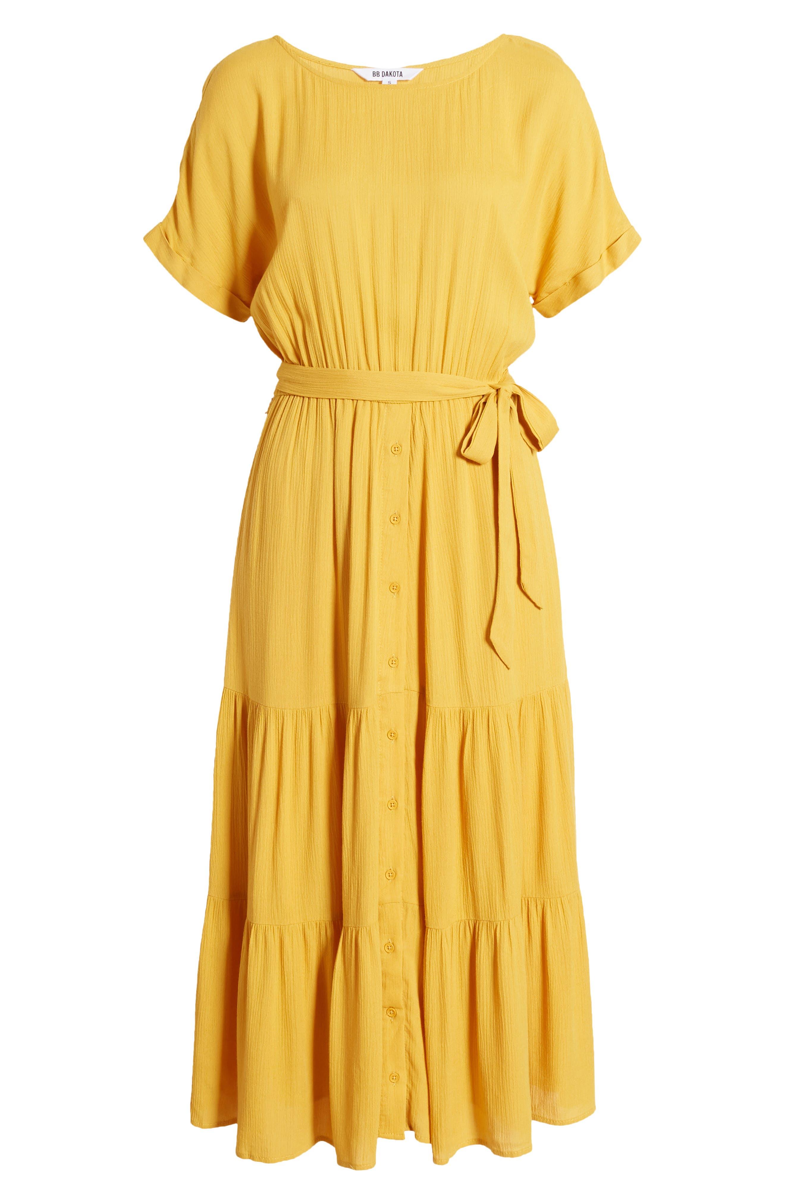 Women's Bb Dakota Crinkled Midi Dress