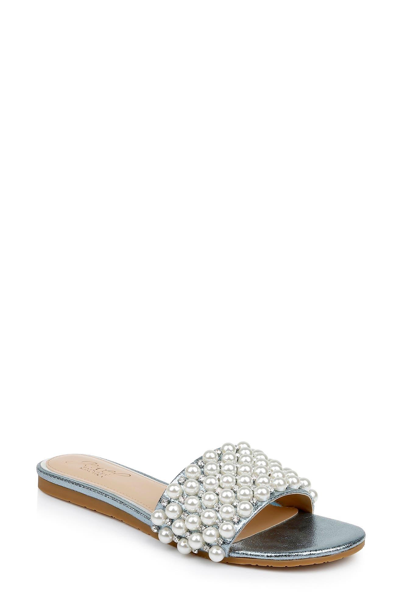 Orion Embellished Slide Sandal
