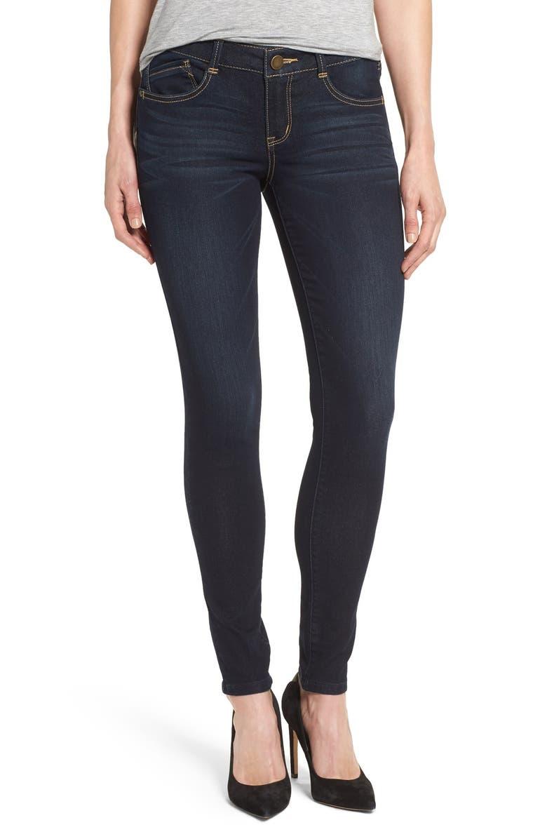 WIT & WISDOM Stretch Skinny Jeans, Main, color, 411