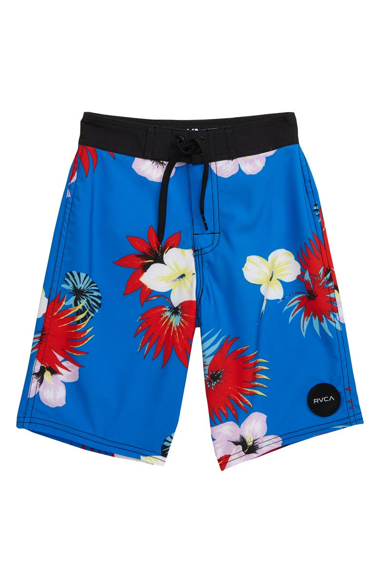 RVCA Print Va Swim Trunks, Main, color, 402