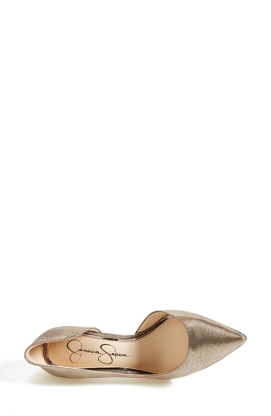 ,                             'Claudette' Half d'Orsay Pump,                             Alternate thumbnail 67, color,                             041