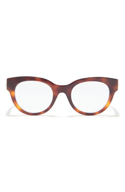 Image of GUCCI 48mm Round Blue Light Readers