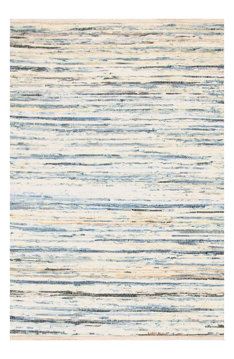 DASH & ALBERT 'Rag' Hand Woven Rug, Main, color, 420