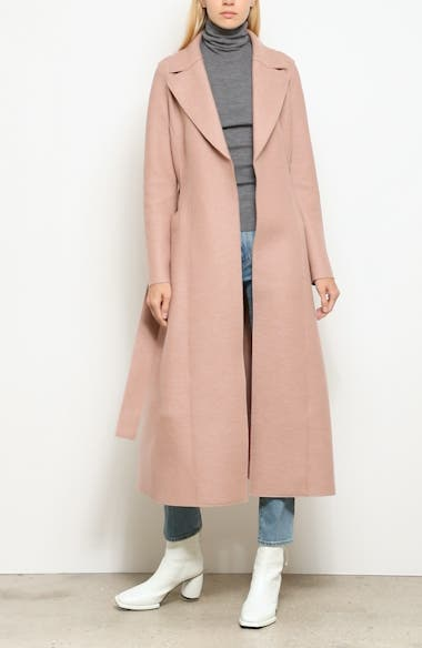 Long Wool Duster Coat, video thumbnail